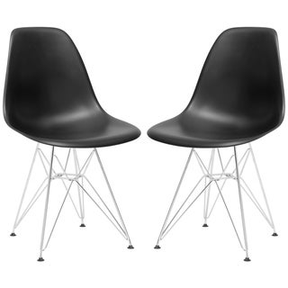 Poly and Bark Padget Dining Chair Eiffel Wire Leg (Set of 2)