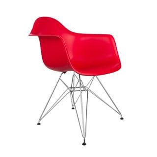 Edgemod Padget Dining Arm Chair Eiffel Wire Leg (Set of 2)