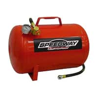Speedway 5-gallon Portable Air Tank - Red