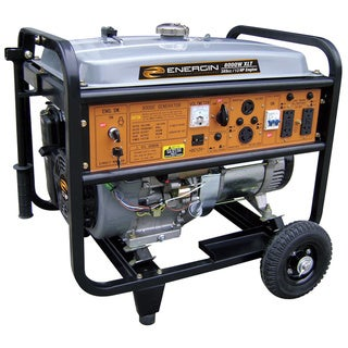 Energin 8,000 XLE Generator with Electric Start and Wheel Kit