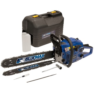 Blue Max 2-in-1 14/20-inch Combination Chainsaw in Protective Case