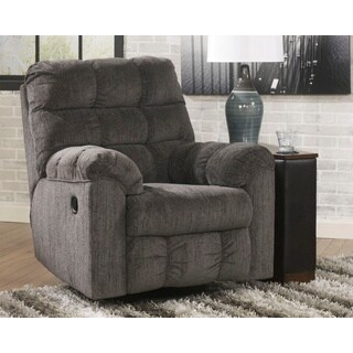 Signature Design by Ashley Acieona Slate Swivel Rocker Recliner