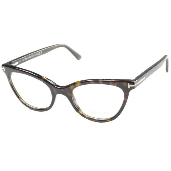 480c27cdf485 ... Accessories     Eyeglasses     Optical Frames. Tom Ford Rx -  TF5271-056-49-FR Havana 49 mm Cateye Reading