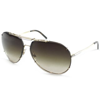 Dolce & Gabbana Men's DG 2075 034/13 Gold Metal Aviator Sunglasses