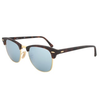 Ray-Ban Unisex 'Clubmaster RB3016 114530' Round Sunglasses
