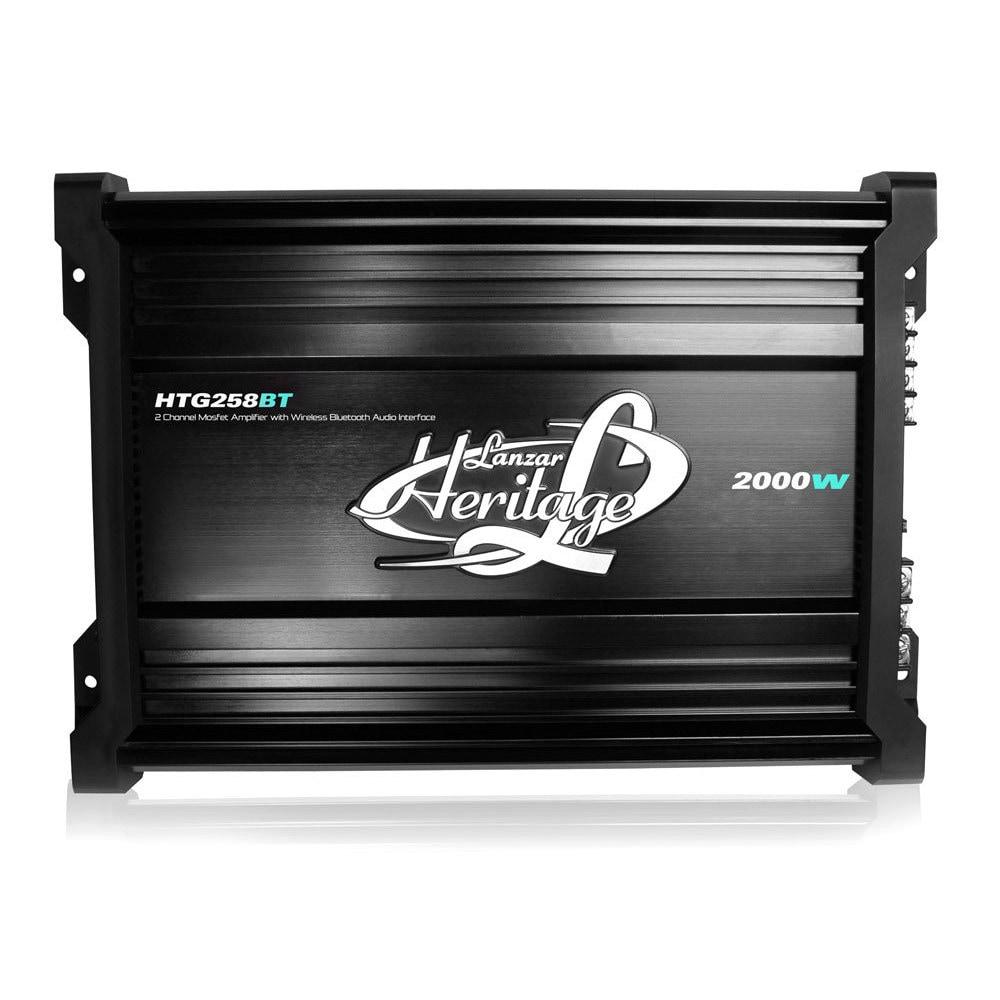LANZAR VCT4110 NEW CAR AUDIO 2000 WATTS 4 CHANNEL HIGH POWER MOSFET AMPLIFIER