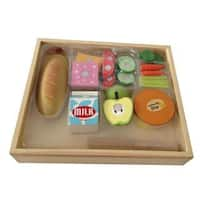 Casual Lunch Wooden 17-piece Sandwich Play Food Set