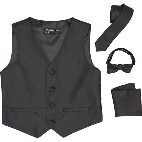 Ferrecci Boys 4-piece Vest Set