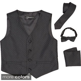 Ferrecci Boys 4-piece Vest Set (More options available)