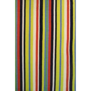 Striped Accent Rug (3'3 x 4'10)