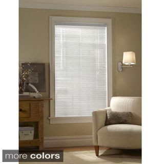 1-inch Aluminum Privacy Mini Blind