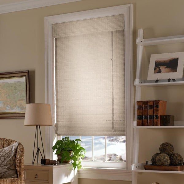 Shop First Rate Blinds Natural Woven Wood Shades Free