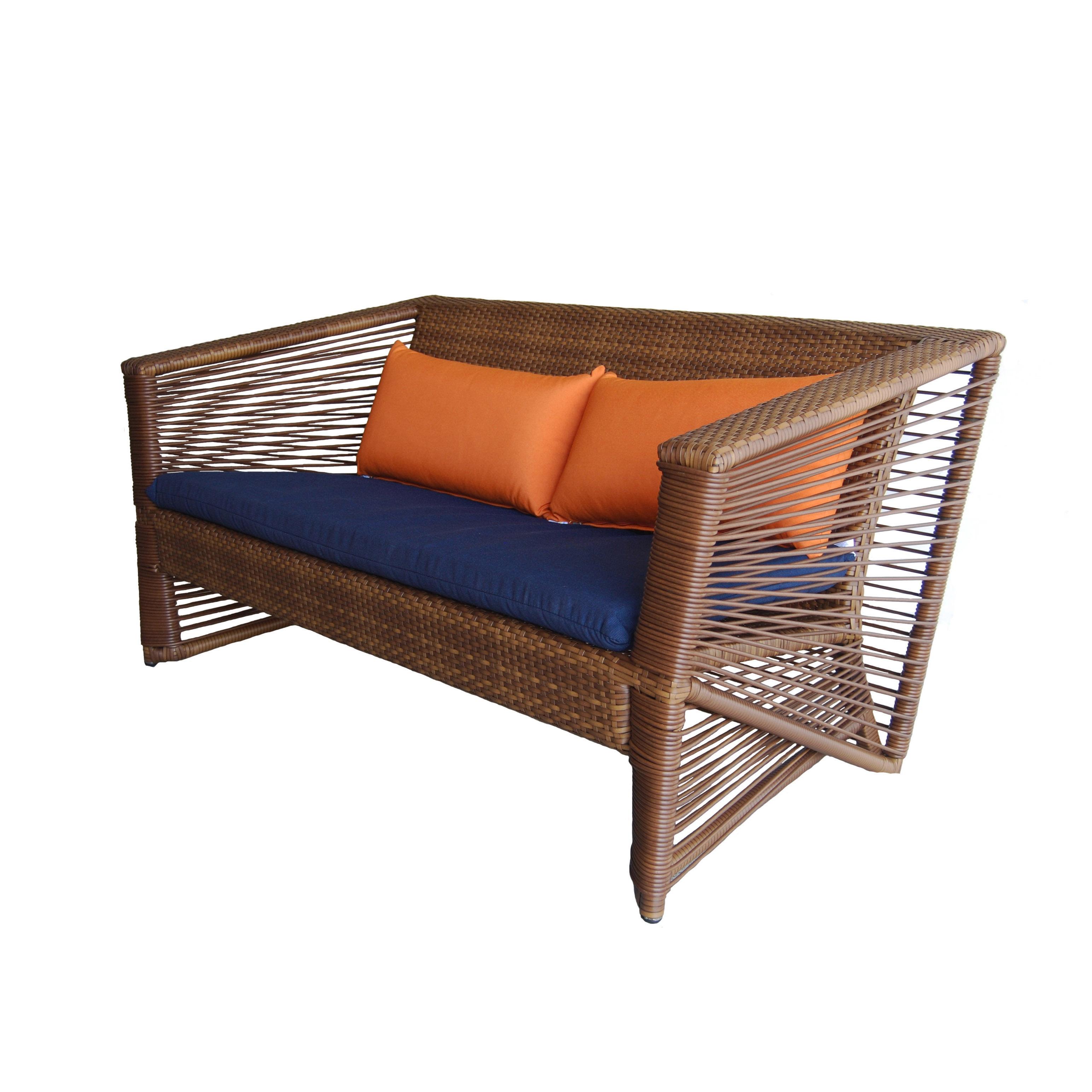 Incredible Borneo Outdoor Resin Wicker Sofa Bralicious Painted Fabric Chair Ideas Braliciousco