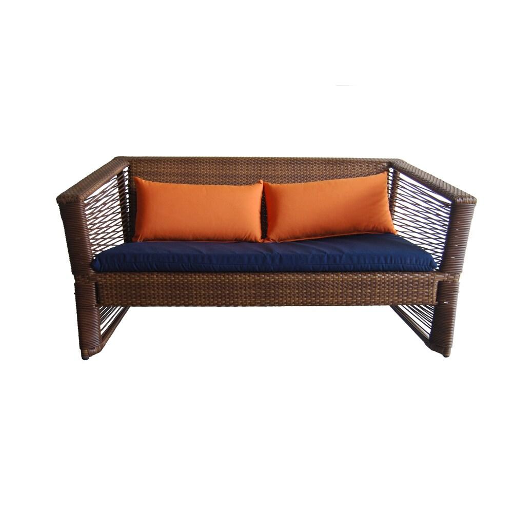 Brilliant Borneo Outdoor Resin Wicker Sofa Bralicious Painted Fabric Chair Ideas Braliciousco