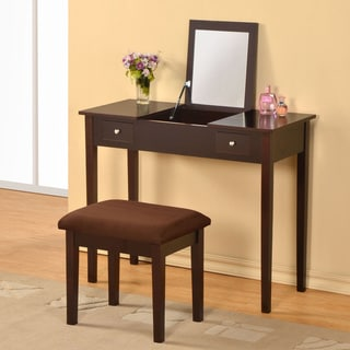 William's Home Furnishing Espresso Bodai Vanity