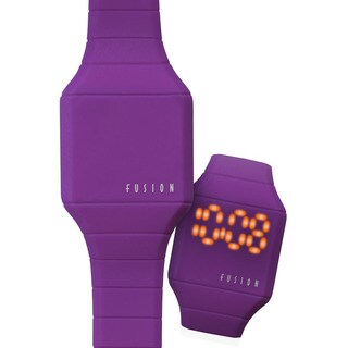 Dakota Fusion Mini 'Purple Hidden Touch' Digital LED Watch