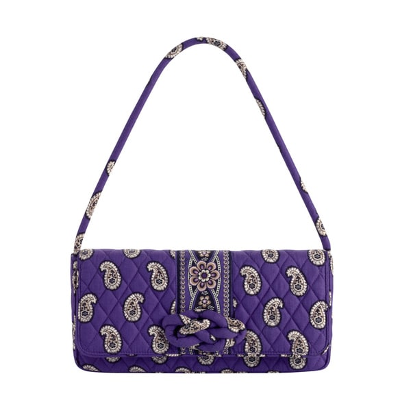 Shop Vera Bradley Simply Violet Knot Just A Clutch Free