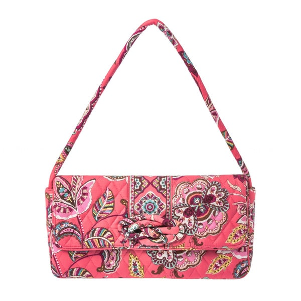 Vera Bradley Call Me Coral Knot Just a Clutch. Opens flyout.