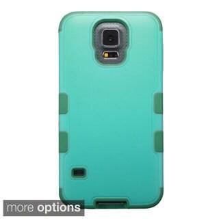 INSTEN Tuff Merge Rubberized Hard Plastic Hybrid Phone Case for Samsung Galaxy S5 SM-G900