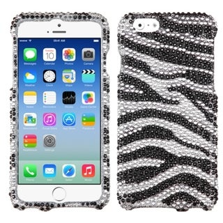 INSTEN Shinny Diamond Bling Design Hard Plastic Phone Case Cover for Apple iPhone 6 4.7-inch