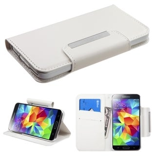 INSTEN Stand Wallet Magnetic Snap Leather Phone Case Cover for Samsung Galaxy S5
