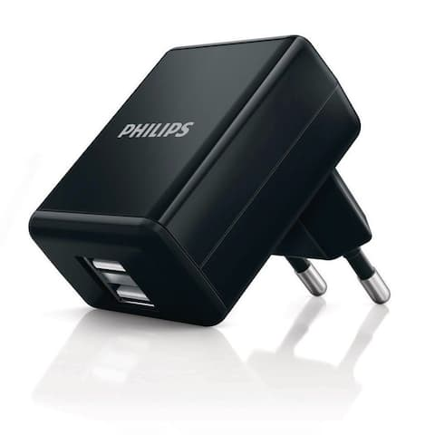 Philips Dual USB wall charger DLP2209 Universal USB