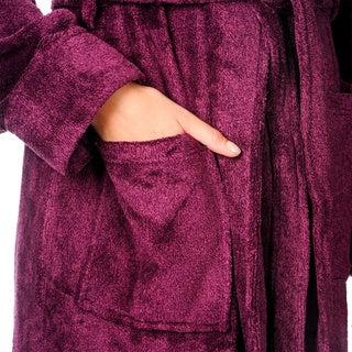 La Cera Women's Full-length Bath Robe