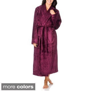 La Cera Women's Full-length Bath Robe