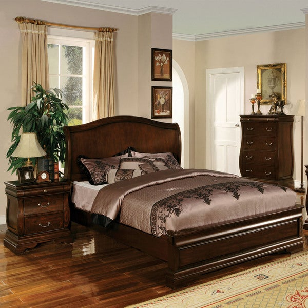 Shop furniture of america rowland transitional style 2 - Transitional style bedroom furniture ...