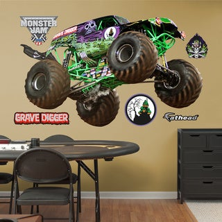 Fathead Monster Jam 'Gravedigger' Wall Decals