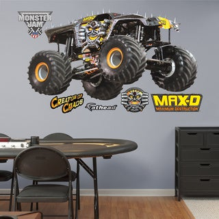 Fathead Monster Jam Maximum Destruction 10th Anniversary Decals