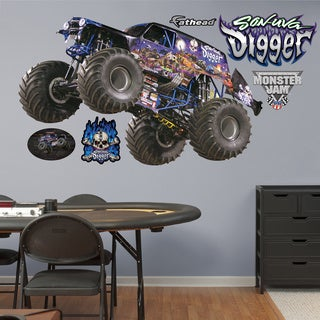 Fathead Monster Jam 'Son-Uva Digger' Wall Decals