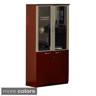 Mayline Napoli High Wall Cabinet with Doors