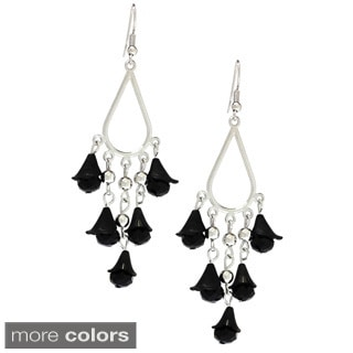 Bleek2Sheek Vine-ology Chandelier Honeybell Crystal Earrings