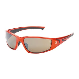 Be the Ball Men's 1000 Series Orange Sport Frame Sunglasses