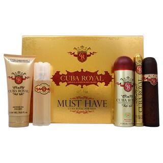 Cuba Royal Men's 5-piece Fragrance Set