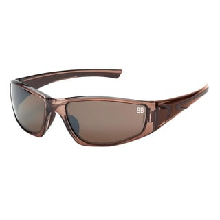 Be the Ball Men's 1010 Series Brown Sport Frame Sunglasses