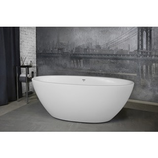 Aquatica Sensuality Mini Freestanding White AquateX Bathtub