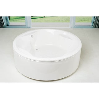Aquatica Allegra-Wht Freestanding or Drop-in Bathtub