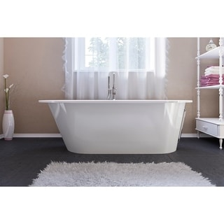 Aquatica Inflection Freestanding Cast Stone Bathtub