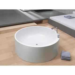Aquatica Imagination-Wht Freestanding Acrylic Bathtub