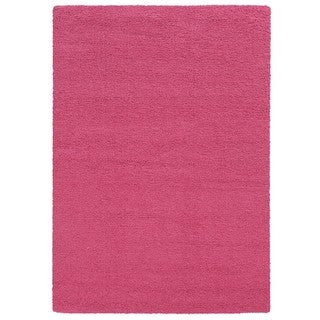 Circa Plush Shag Shag Pink Rug (7'10 x 10'10)