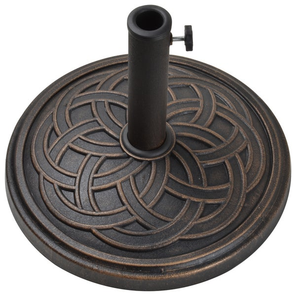 Gaelen Umbrella Base Free Shipping Today Overstock Com