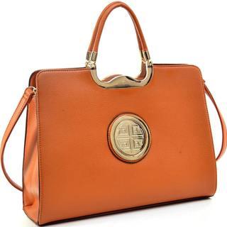 Dasein Rolled-handle Emblem Briefcase