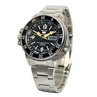 Seiko 5 Men's SKZ211K1 Sports Silvertone Watch