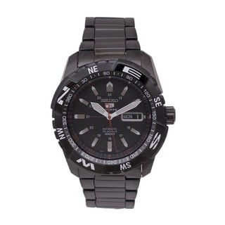 Seiko Men's 5 SNZJ11K1 Sports Black Watch