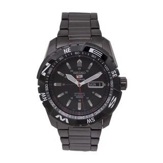 Seiko Men's 5 SNZJ11K1 Sports Black Watch