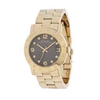 Marc Jacobs Women's Amy Goldtone Stainless Steel Watch