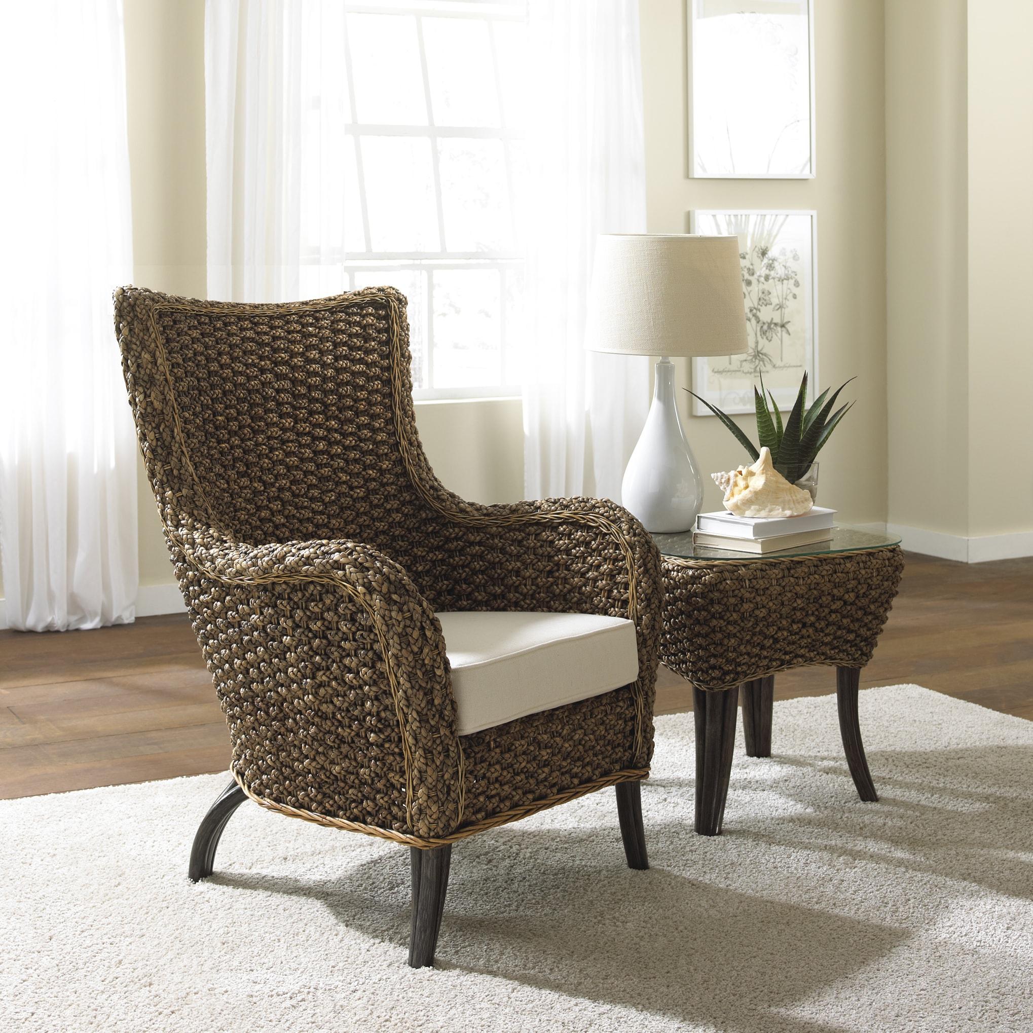 Panama Jack Sanibel 2-piece Lounge chair and End Table Se...