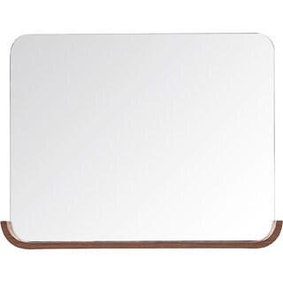 Avanity Siena 35-inch Chesnut Shelf Mirror
